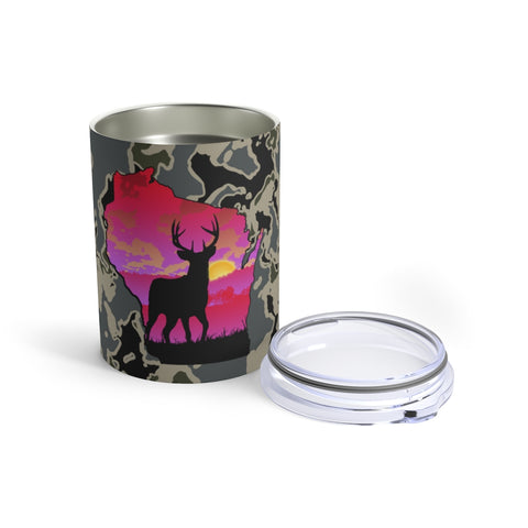 Wisconsin Deer Tumbler 10oz