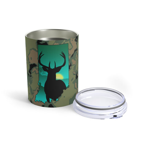 Indiana Deer Tumbler 10oz
