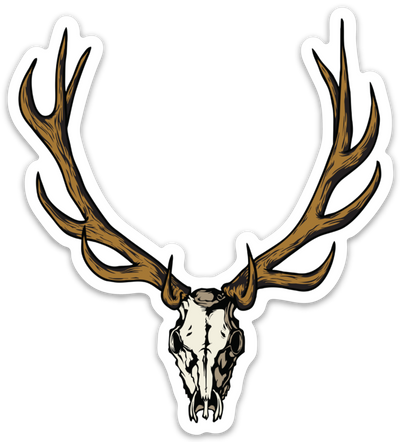 Elk Euro Sticker