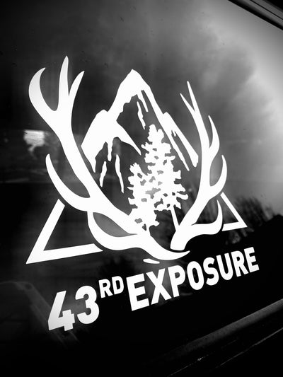 "Vehicle Vinyl - 43rd Exposure ""Original"" Logo"