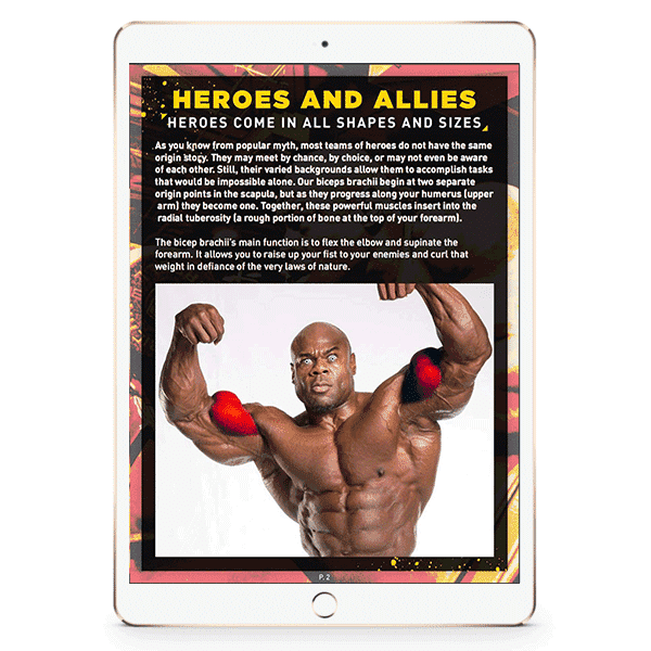 Biceps: Tale of Twin Heroes E-Book