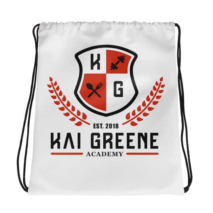Kai Greene Academy Drawstring bag