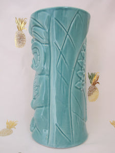Moku Green Tiki Mug, holds 12 ounces