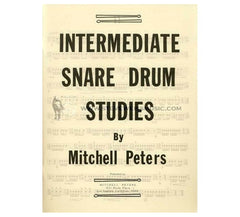 Intermediate Snare Drum Method by Mitchell Peters