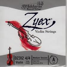 Zyex Violin Strings