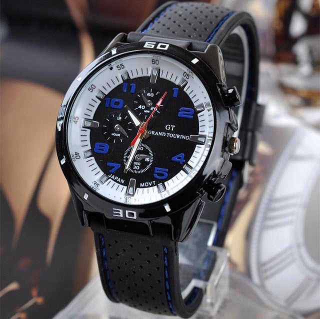 Top Luxury Brand Fashion Military Quartz Watch Men Sports Wrist Watches Clock Hour Male Relogio Masculino 8O75