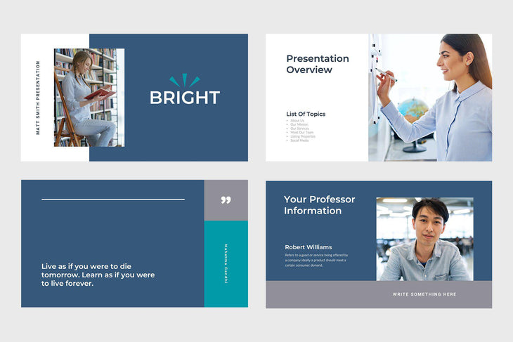 Bright Education Google Slides