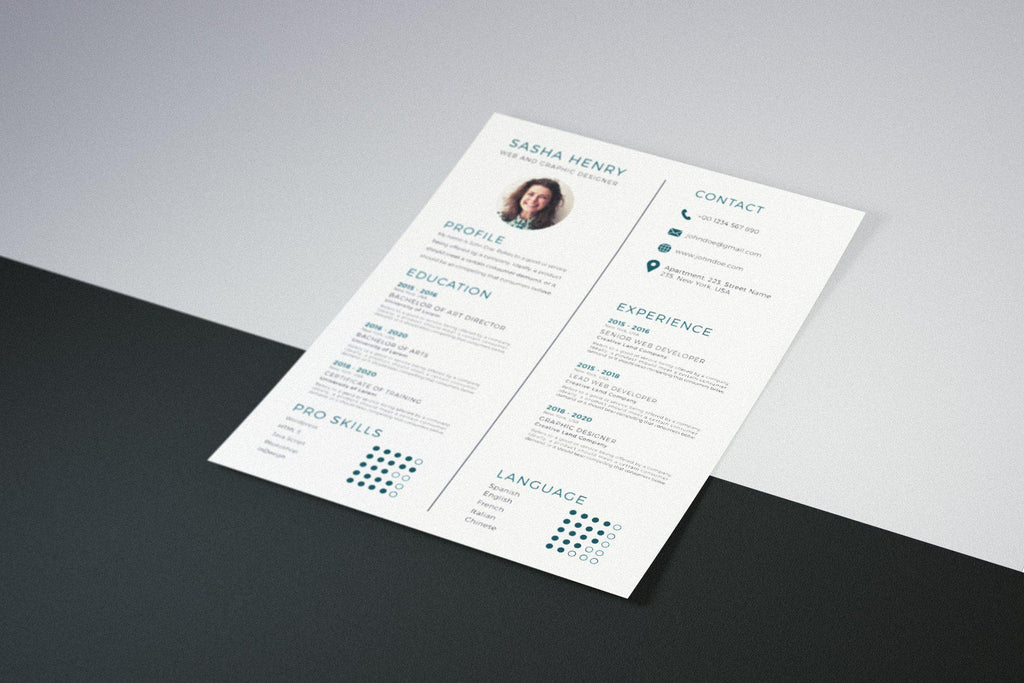 Corfu Resume Template