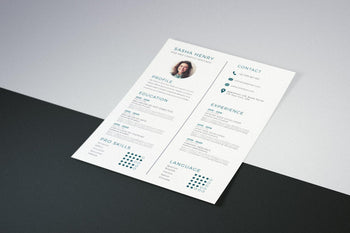 Corfu Resume Template-PowerPoint Template, Keynote Template, Google Slides Template PPT Infographics -Slidequest