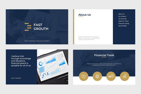 Fast Growth Finance PowerPoint Template-PowerPoint Template, Keynote Template, Google Slides Template PPT Infographics -Slidequest