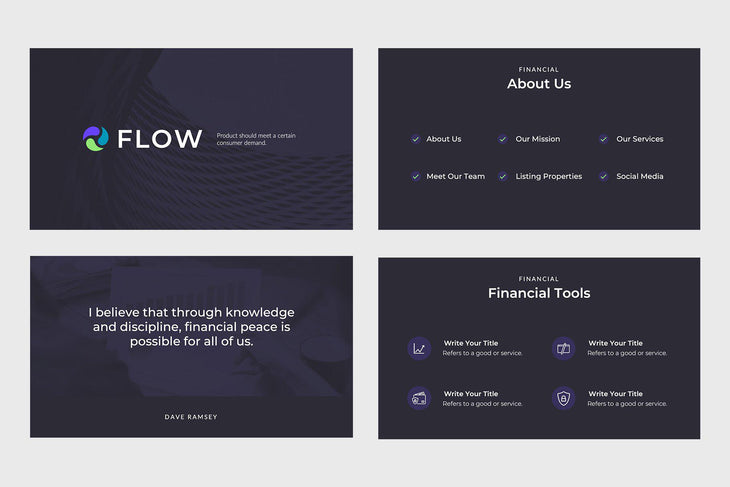Flow Finance Google Slides