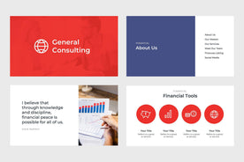 General Consulting Finance Google Slides