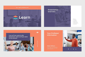 Learn Education Keynote Template-PowerPoint Template, Keynote Template, Google Slides Template PPT Infographics -Slidequest