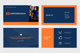 Performance Finance PowerPoint Template