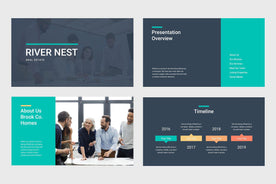 River Nest Real Estate PowerPoint Template