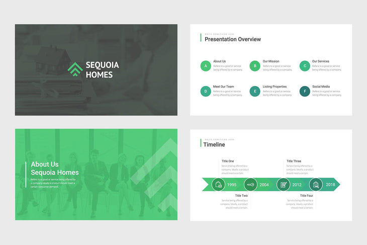 Sequoia Homes Real Estate Google Slides