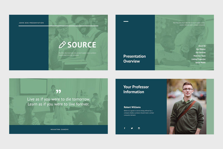 Source Education Keynote Template-PowerPoint Template, Keynote Template, Google Slides Template PPT Infographics -Slidequest