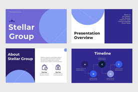 Stellar Group Real Estate PowerPoint Template-PowerPoint Template, Keynote Template, Google Slides Template PPT Infographics -Slidequest
