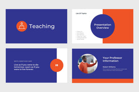 Teaching Education Google Slides