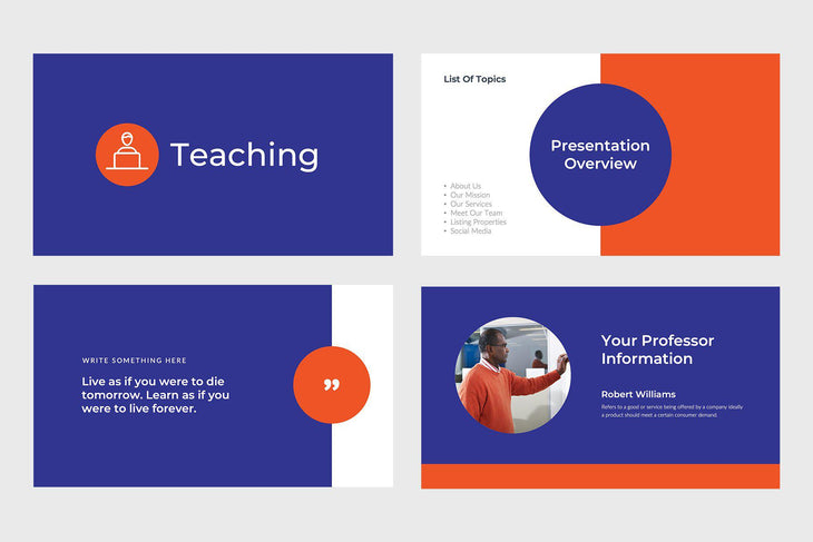 Teaching Education Keynote Template