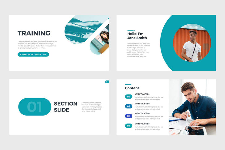 Training Webinar PowerPoint Template-PowerPoint Template, Keynote Template, Google Slides Template PPT Infographics -Slidequest