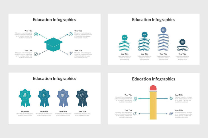 Education Infographics - TheSlideQuest