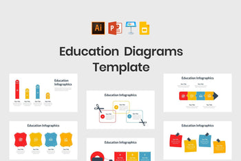 Education Diagrams-PowerPoint Template, Keynote Template, Google Slides Template PPT Infographics -Slidequest