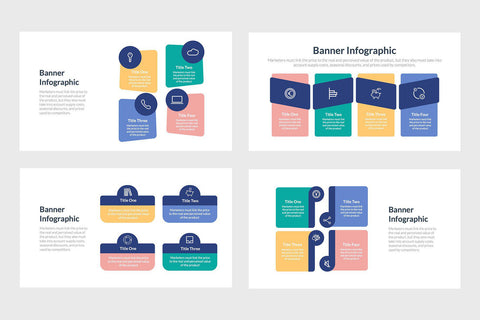 Banner Infographics Template