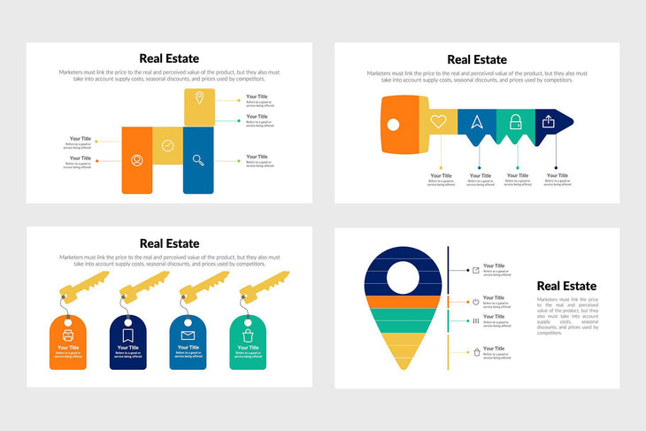 Real Estate Infographics for Presentations