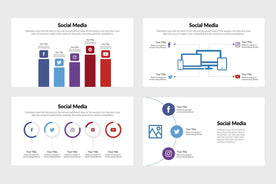 Social Media Infographics Template