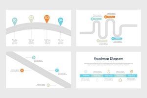 Simple Roadmap Template - TheSlideQuest