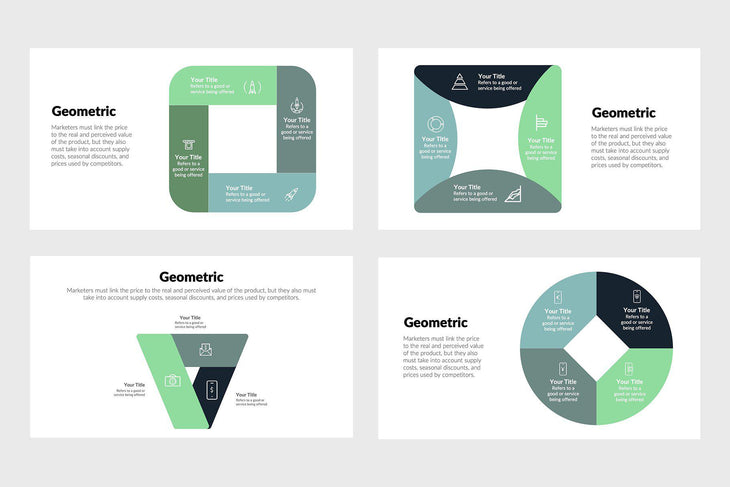 Geometric Infographics Template