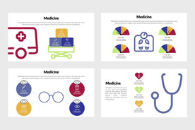 Medicine Infographics-PowerPoint Template, Keynote Template, Google Slides Template PPT Infographics -Slidequest
