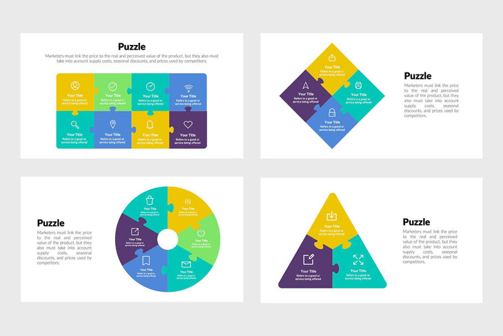 Puzzle Infographics Template