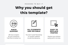 Load image into Gallery viewer, Omma Minimal Keynote Template - TheSlideQuest