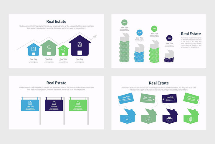 Real Estate Infographic Templates-PowerPoint Template, Keynote Template, Google Slides Template PPT Infographics -Slidequest