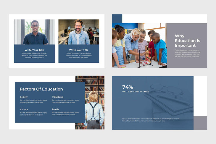 Bright Education Keynote Template