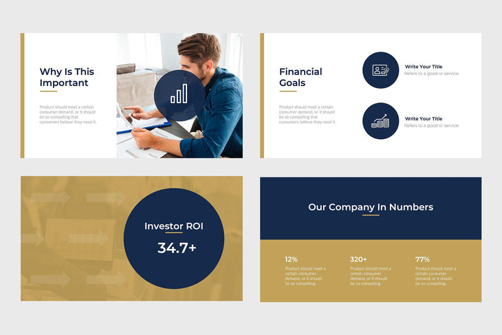 Fast Growth Finance Keynote Template