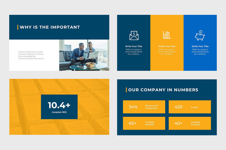 Financial Capital Finance Keynote Template