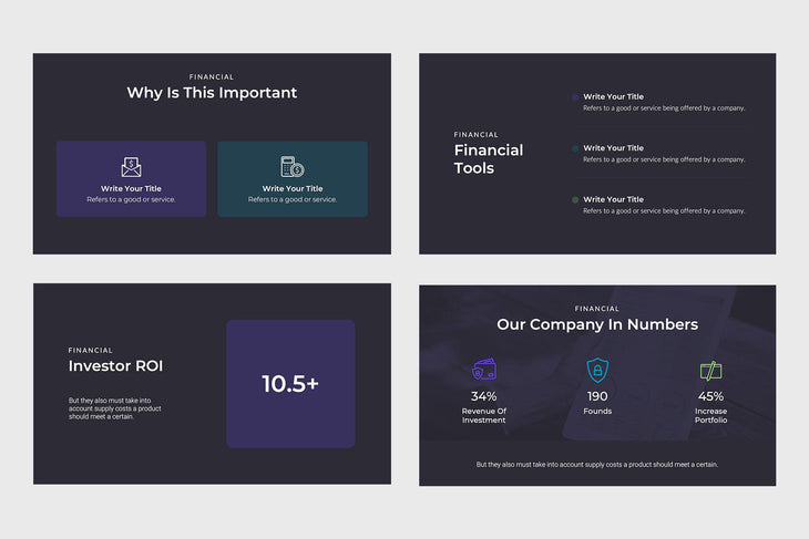 Flow Finance Google Slides-PowerPoint Template, Keynote Template, Google Slides Template PPT Infographics -Slidequest