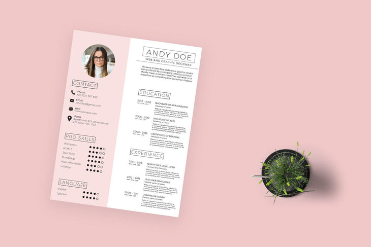Icaria Resume Template