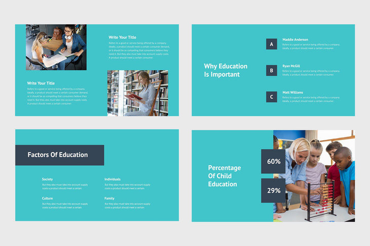 Innovate Education Keynote Template