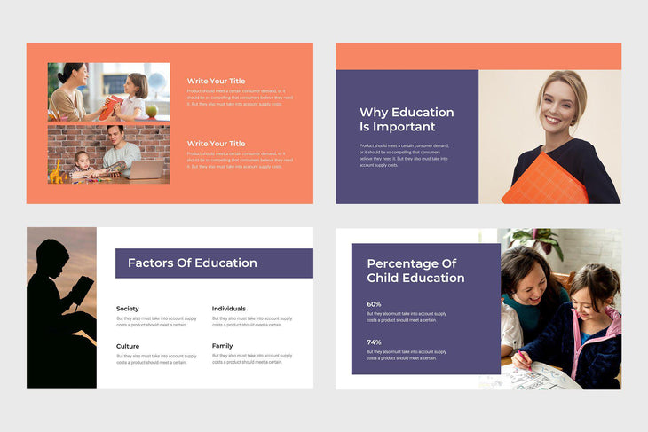 Learn Education Keynote Template