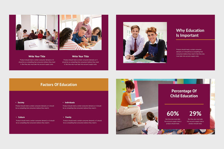Mind Education Google Slides-PowerPoint Template, Keynote Template, Google Slides Template PPT Infographics -Slidequest