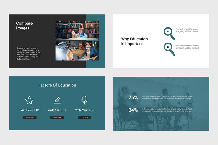 Think Education Keynote Template
