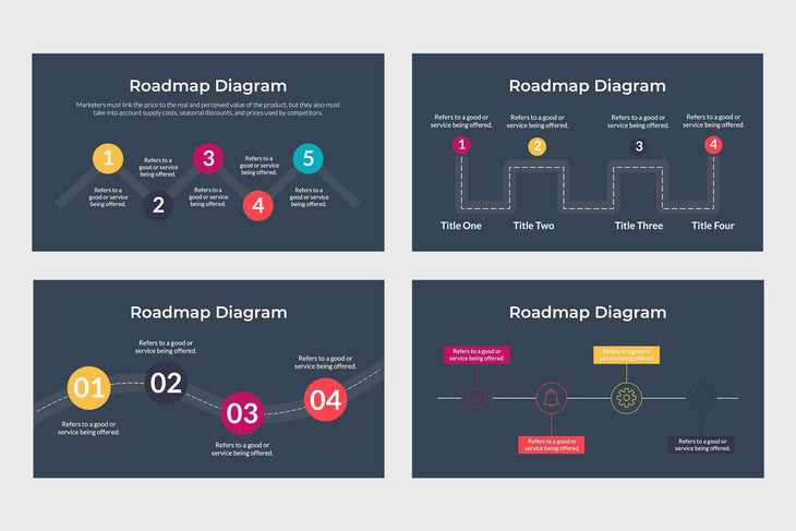 Roadmap PowerPoint Template - TheSlideQuest