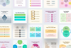 InstaCoach Instagram Templates (Posts + Stories)-PowerPoint Template, Keynote Template, Google Slides Template PPT Infographics -Slidequest
