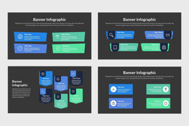 Banner Infographics-PowerPoint Template, Keynote Template, Google Slides Template PPT Infographics -Slidequest