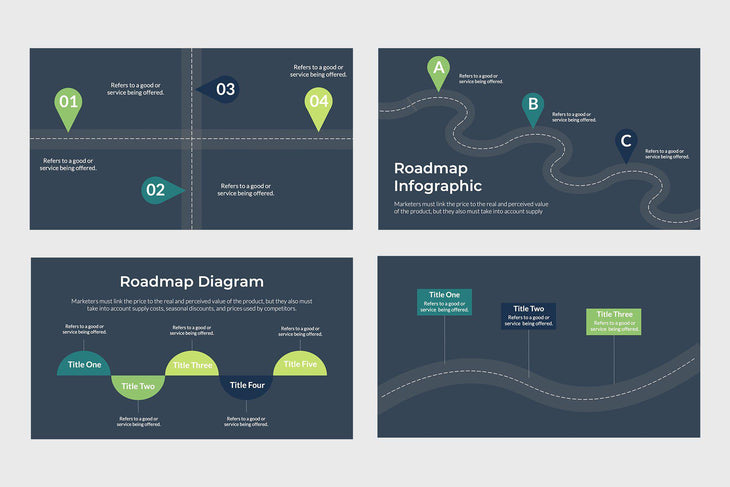 Product Roadmap Diagram - TheSlideQuest