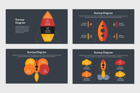Startup Infographics Template